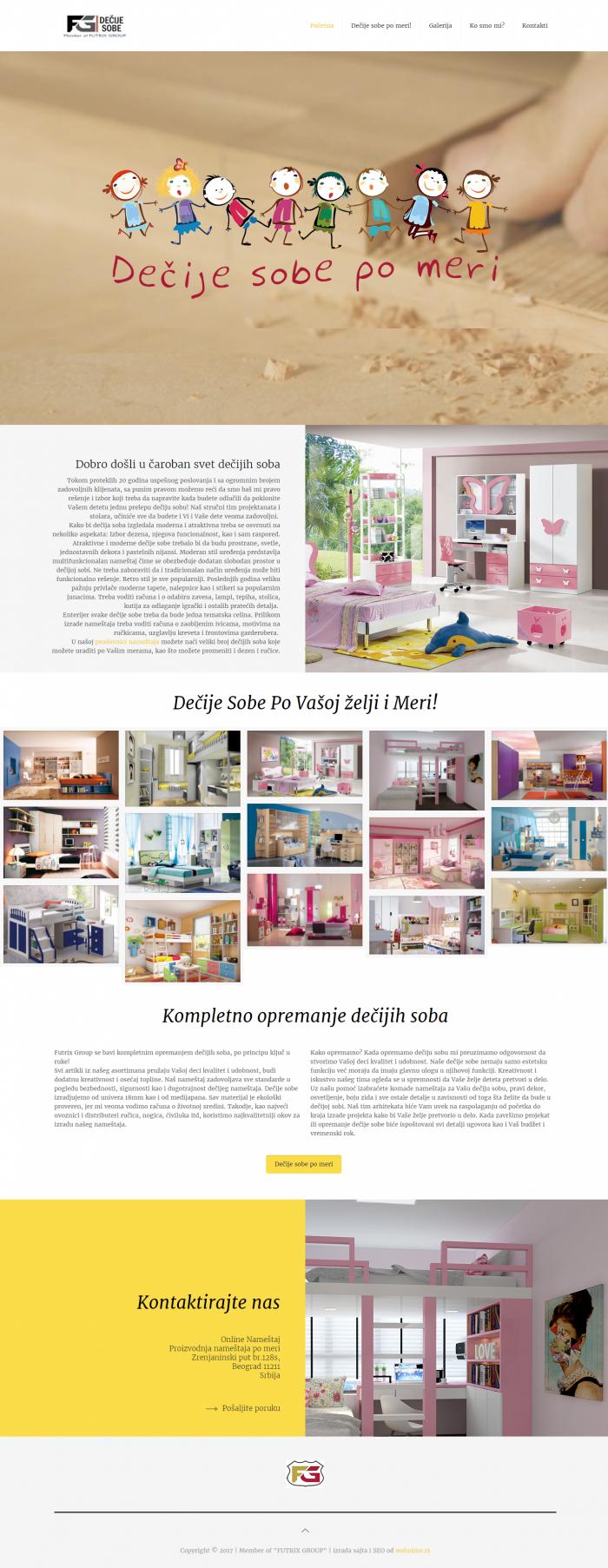 Сайт за мебели за детски стаи, https://webnime.com/