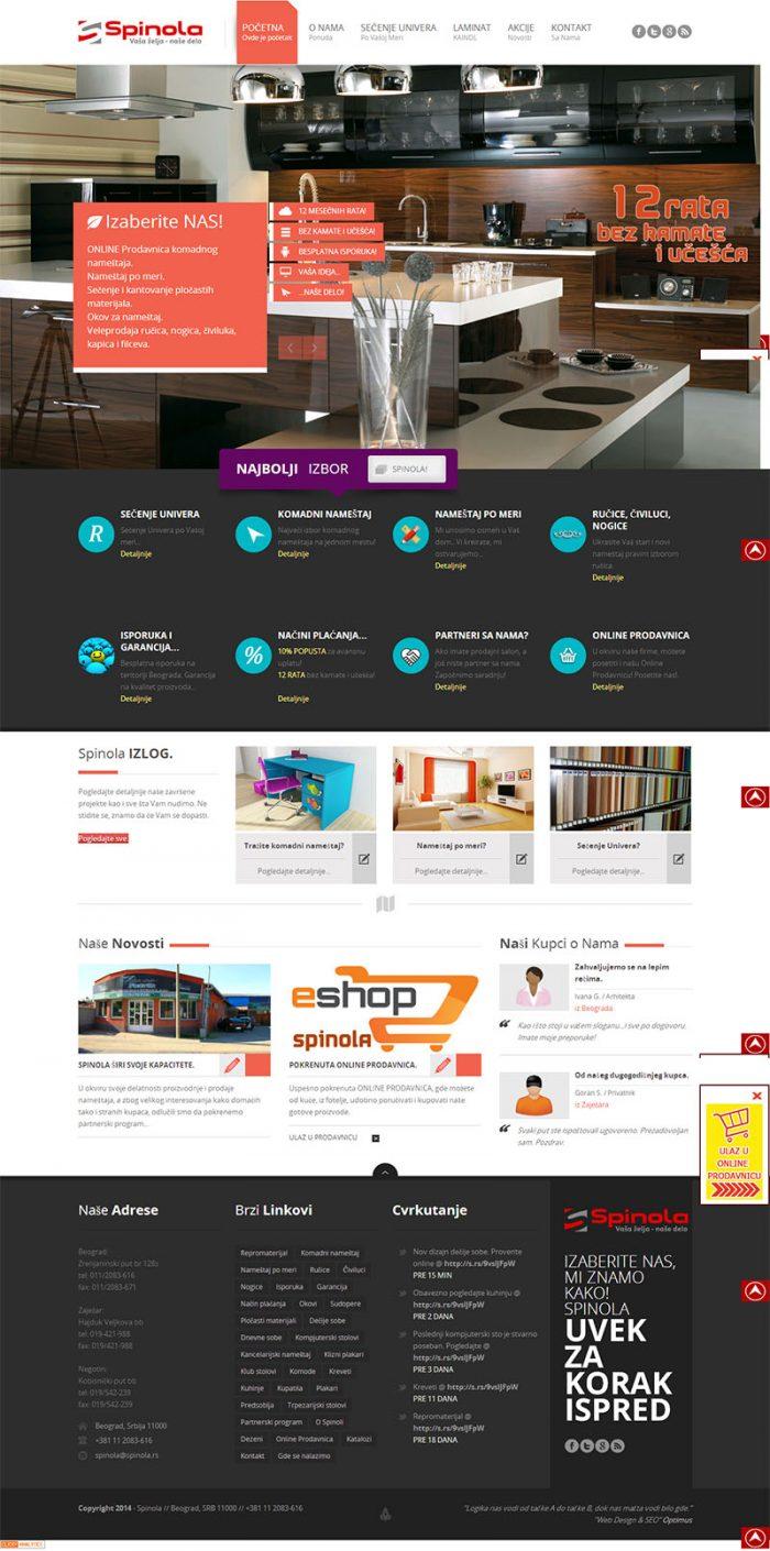 Уеб сайт за мебели, https://webnime.com