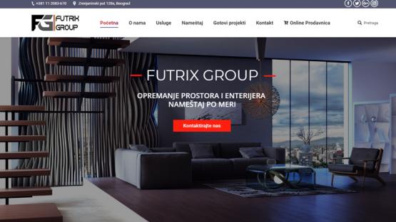 Изработка на сайт - Futrix Group, https://webnime.com