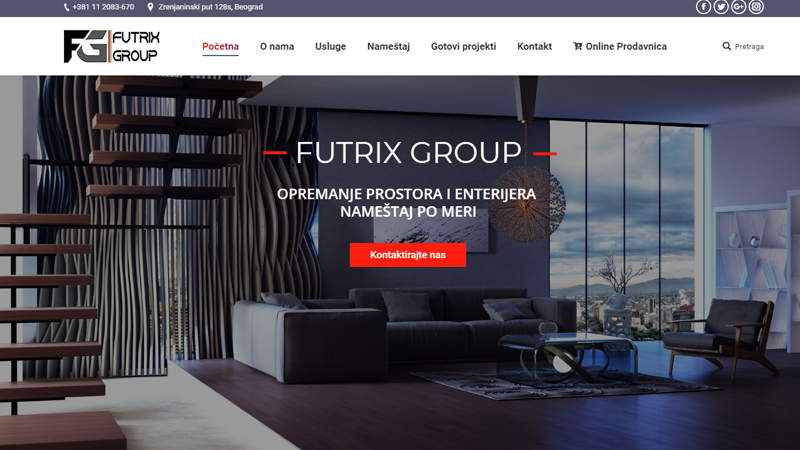 Изработка на сайт - Futrix Group, https://webnime.com