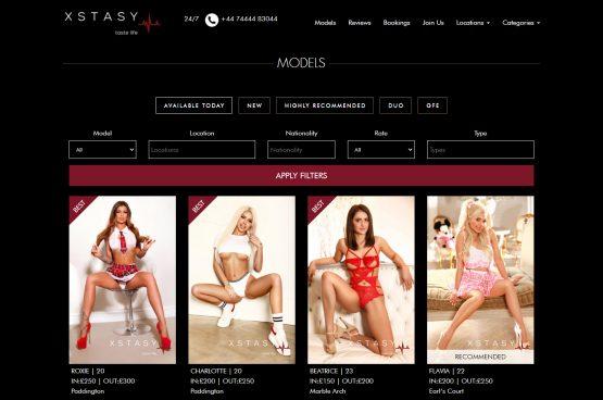 Сайт каталог с момичета за ескорт